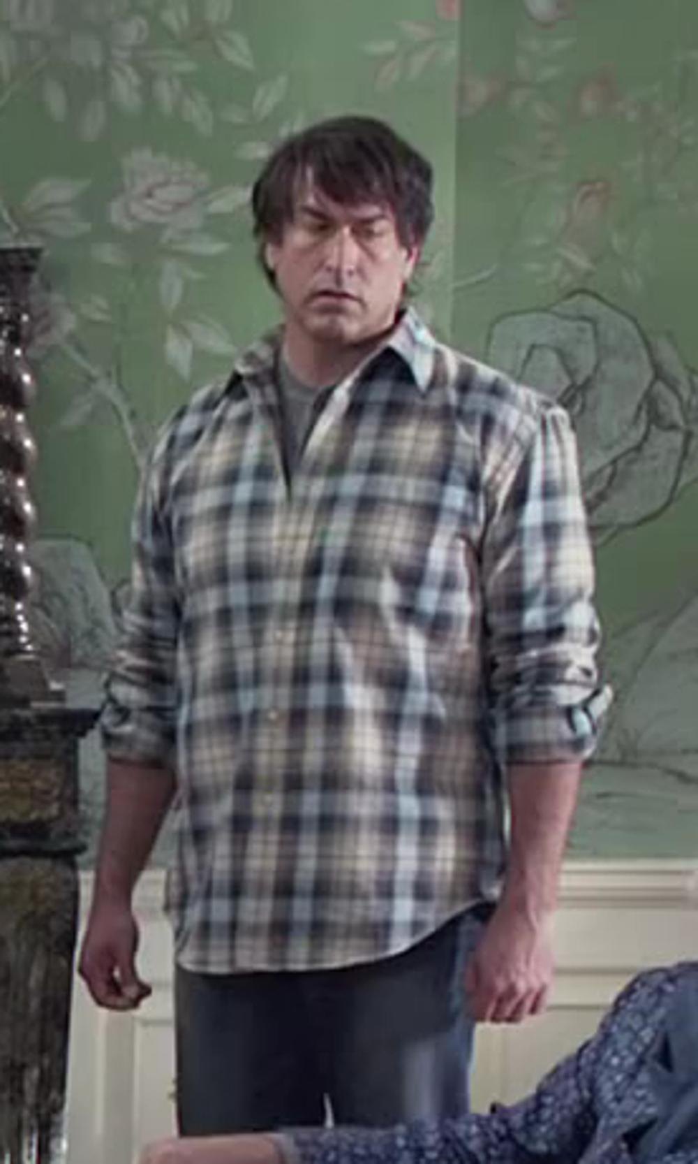 Rob Riggle with The Foundry Supply Co. Long-Sleeve Flannel Shirt-Big & Tall in Dumb and Dumber To