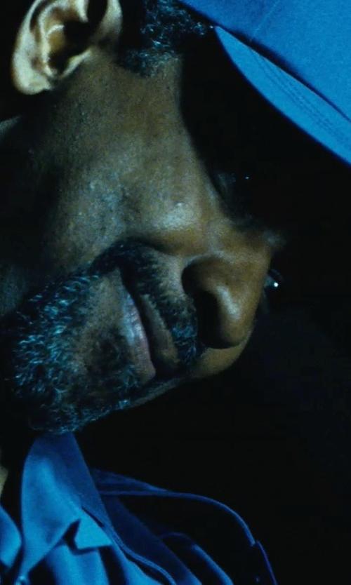 Denzel Washington with UAW Security Emblem Cap in Safe House