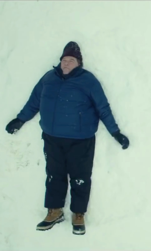John Goodman with Neil Barrett Ribbed Knit Beanie in Love the Coopers