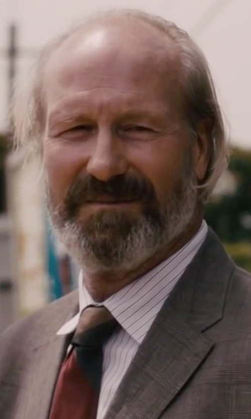 William Hurt with Corneliani Fine Striped Dress Shirt in The Disappearance of Eleanor Rigby