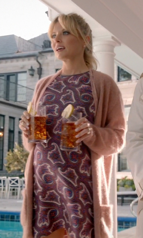 Kaitlin Doubleday with Theory Women's Brindina L Veranda Dress in Empire