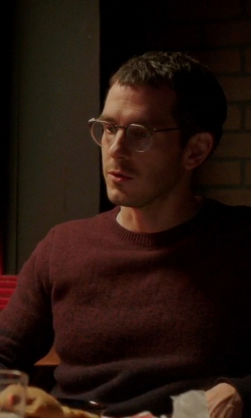 Tate Ellington with Ted Baker London Holaday' Modern Ombré Crewneck Sweater in Quantico