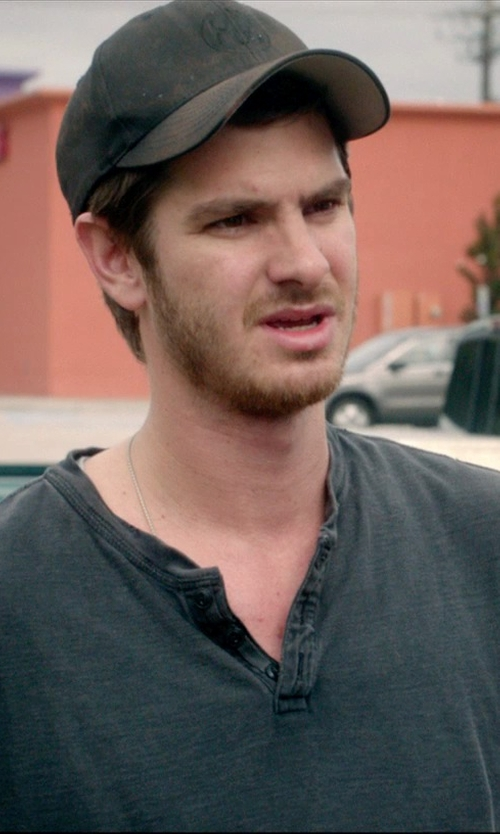 Andrew Garfield with Herschel Supply Co. Headwear Toby Cap in 99 Homes