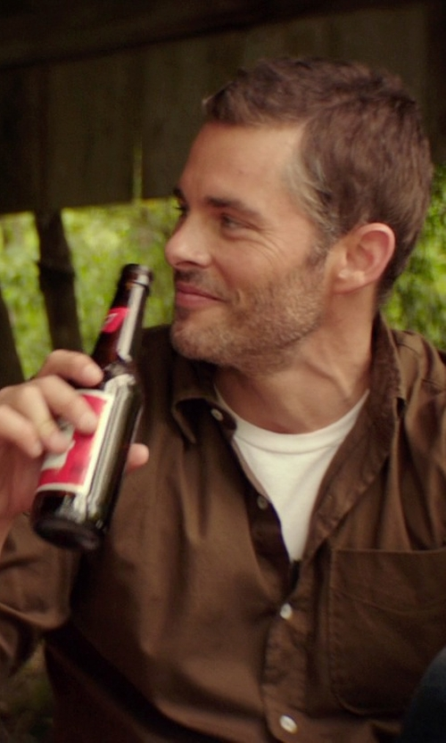 James Marsden with Budweiser Beer in The Best of Me