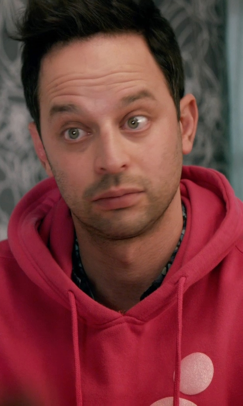 Nick Kroll with Gosha Rubchinskiy Skeleton Print Hoodie in Adult Beginners