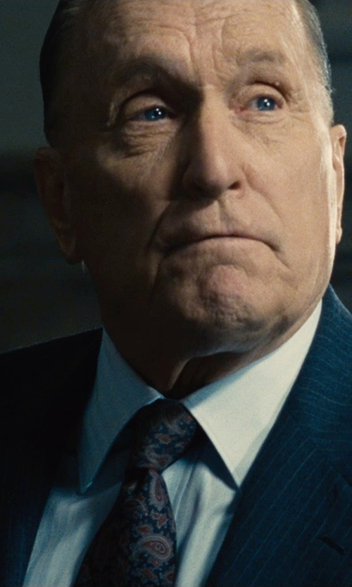 Robert Duvall with Dockers Men's Paisley Necktie in The Judge
