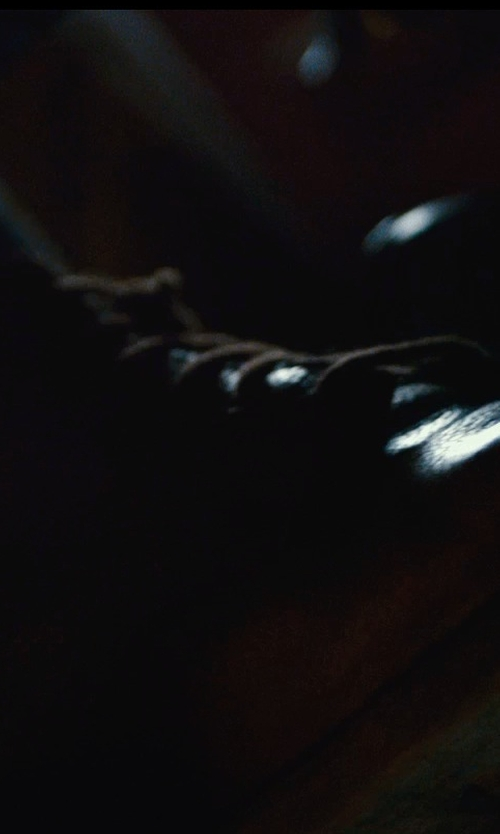 Armie Hammer with Frye Roland Lace Up Boots in The Man from U.N.C.L.E.