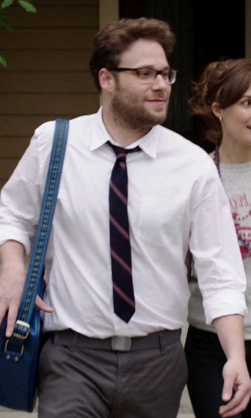 Seth Rogen with Tumi Centro Verona Flap Messenger Bag in Neighbors