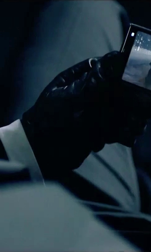 Rupert Friend with Barneys New York Cashmere-Lined Gloves in Hitman: Agent 47