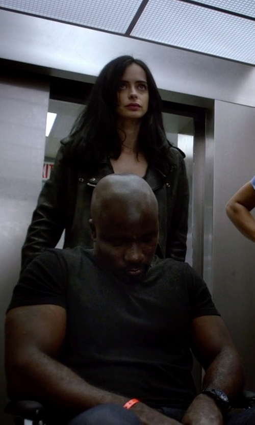 Mike Colter with John Elliott + Co. Basic T-Shirt in Jessica Jones