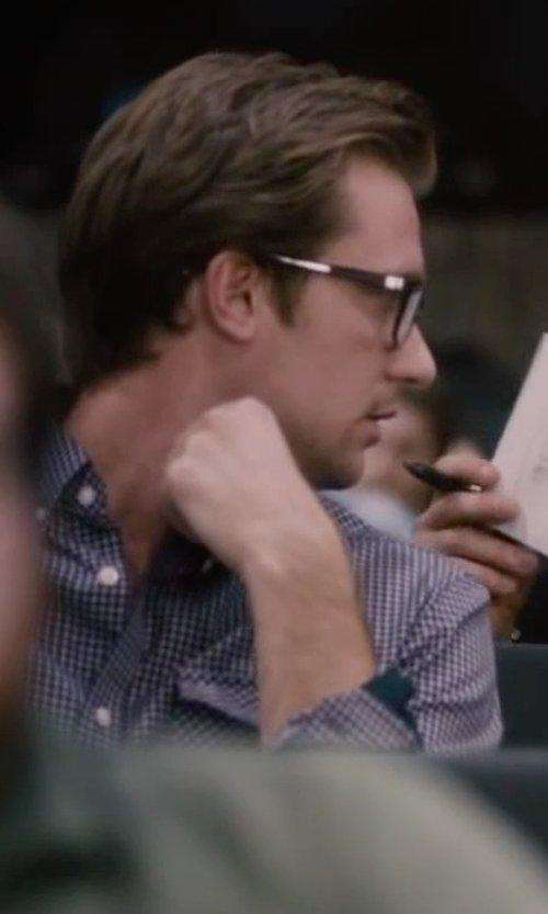 Unknown Actor with Tommy Hilfiger Slim-Fit Check Dress Shirt in The Disappearance of Eleanor Rigby