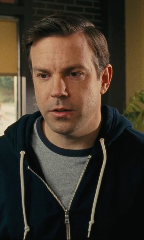 Jason Sudeikis with Polo Ralph Lauren Zip Up Hoodie in Hall Pass