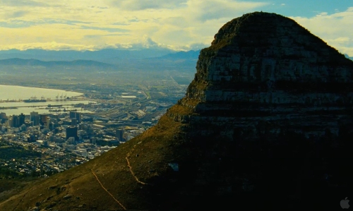 Unknown Actor with Lion's Head Mountain Cape Town, South Africa in Safe House