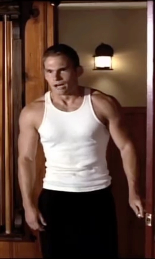 Seann William Scott with C-IN2 Core Basic Tank Top in American Pie