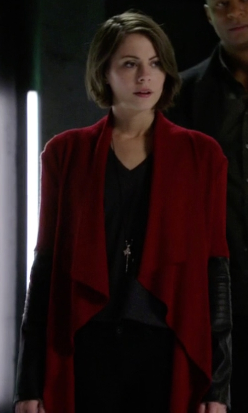 Willa Holland with BB Dakota Henrietta Jacket in Arrow
