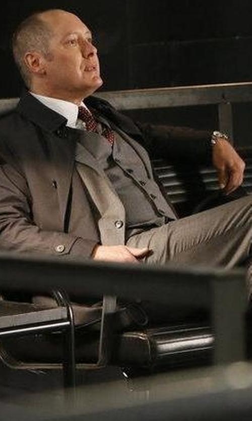James Spader with Rolex GMT Master 16700 Watch in The Blacklist