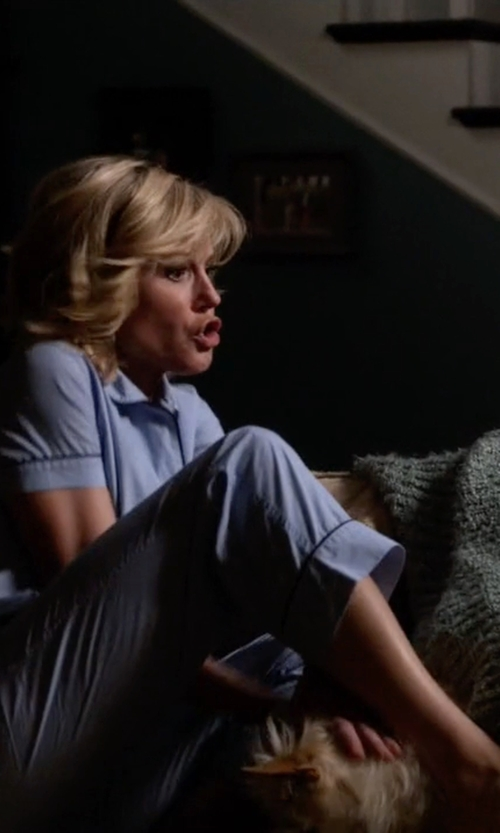 Julie Bowen with J.Crew Vintage Short Sleeve Pajama Set in Modern Family