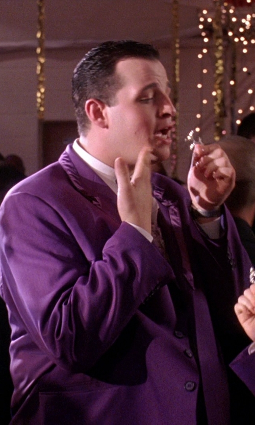 Daniel Franzese with Paul Smith Slim Fit Blazer in Mean Girls