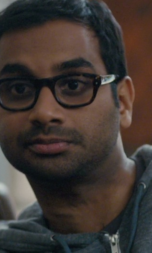 Aziz Ansari with See Concept, Paris  Shape #B Reading Eyeglasses in Master of None