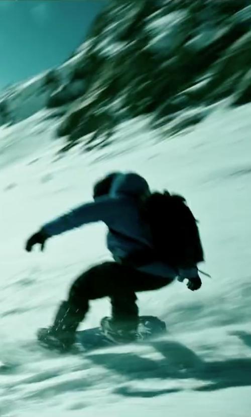Luke Bracey with Phenix Sogne Ski Pants in Point Break