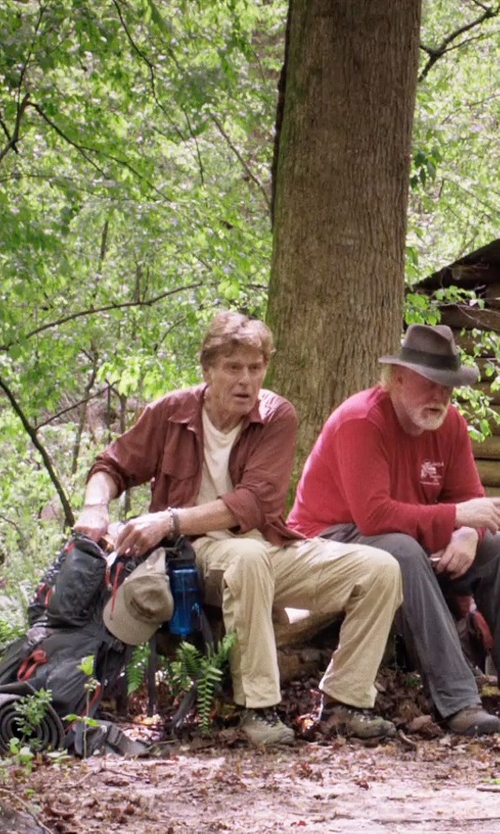 Robert Redford with Asolo Zion WP Hiking Boots in A Walk in the Woods
