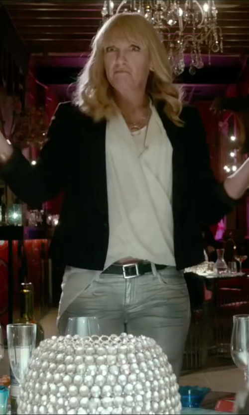 Toni Collette with Lucky Brand 'The Point' Leather Belt in Miss You Already