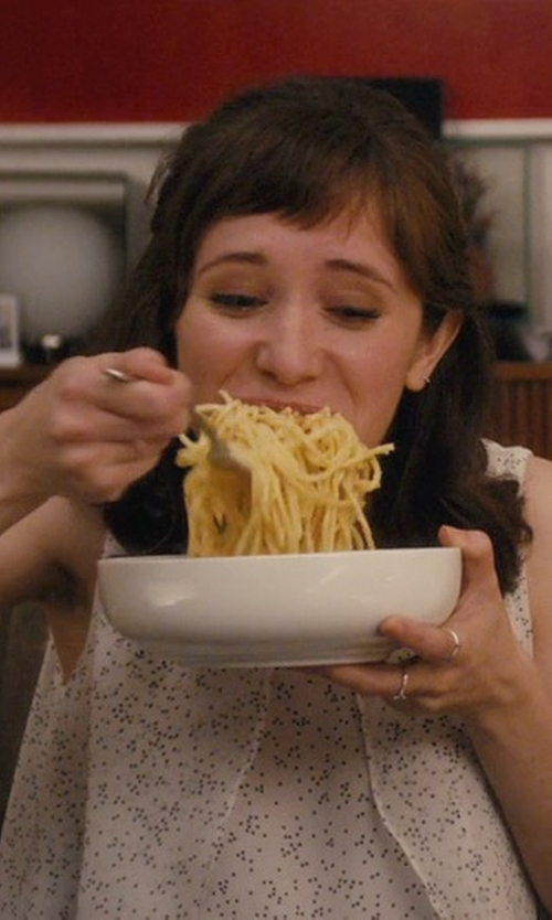 Noël Wells with Jones New York  Polka Dot Blouse in Master of None