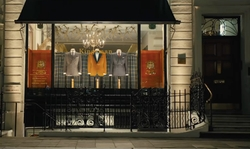 Unknown Actor with H.Huntsman & Sons Ltd (Depicted as Kingsman Shop) London, United Kingdom in Kingsman: The Golden Circle