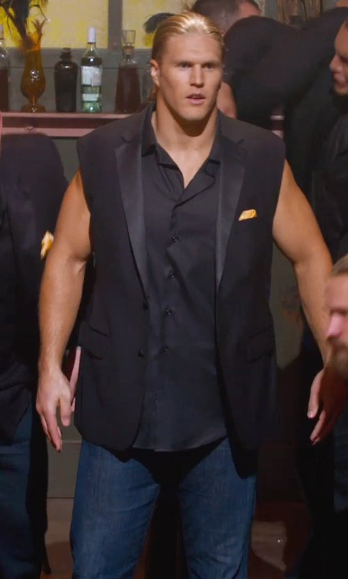 Clay Matthews with Verri Denim Pants in Pitch Perfect 2