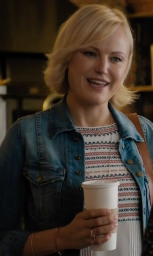 Malin Akerman with Current/ Elliot The Snap Jacket in Billions