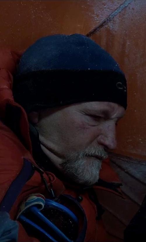 Mark Derwin with Quiksilver Jewel Beanie in Everest