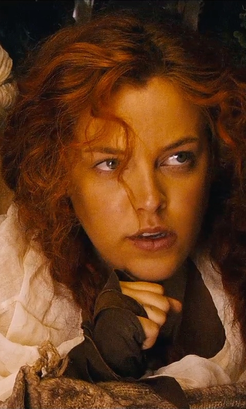 Riley Keough with Majestic Filatures Rolled Hem Scarf in Mad Max: Fury Road