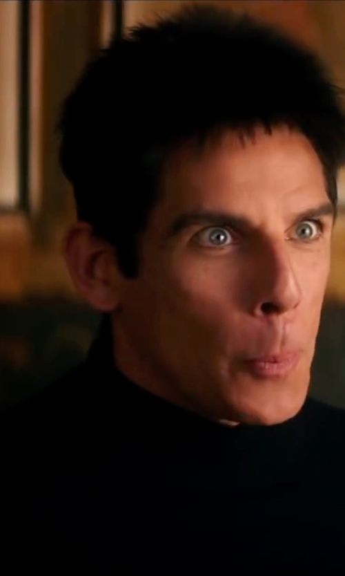 Ben Stiller with Nuur Turtle Neck Sweater in Zoolander 2