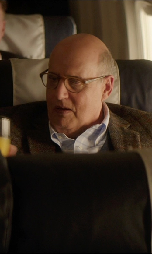 Jeffrey Tambor with Dolce & Gabbana Herringbone-Stripe Waistcoat in The D Train