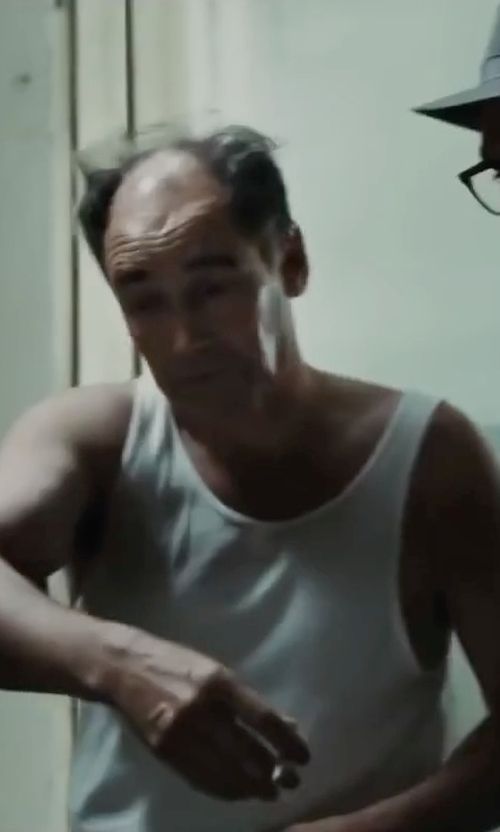 Mark Rylance with Nike SB Skyline Dri-Fit Tank Top in Bridge of Spies