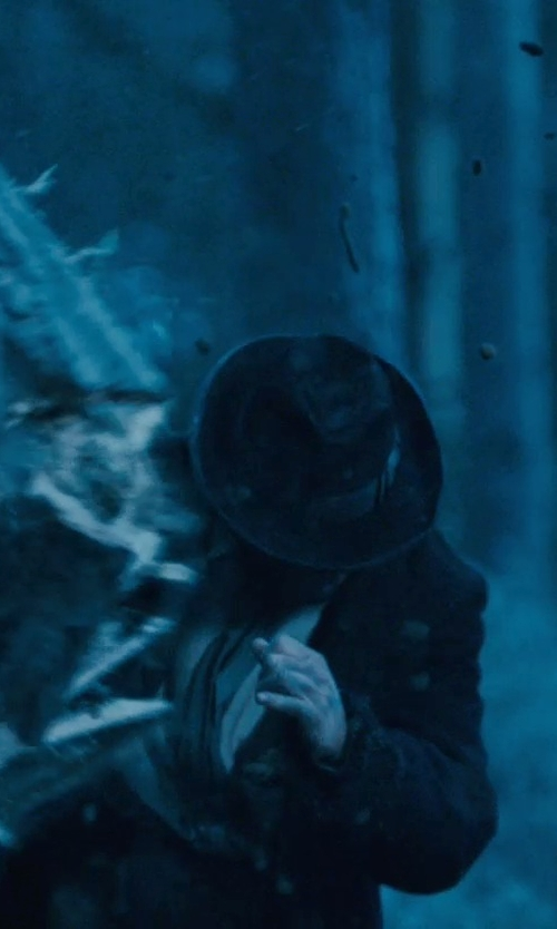 Unknown Actor with Michael Kors Wool-Blend Faux Fur Trim Over Coat in Sherlock Holmes: A Game of Shadows