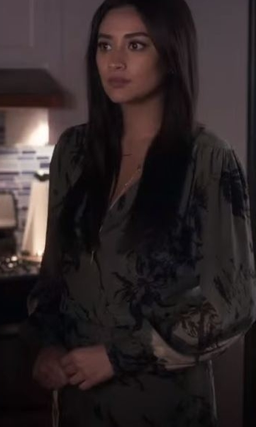 Shay Mitchell with AL Boutique Gigi Romper in Pretty Little Liars