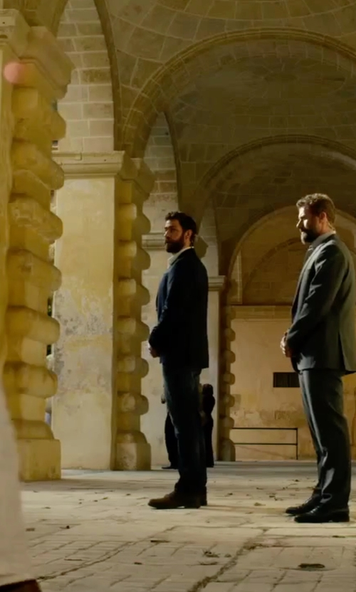 John Krasinski with Ben Sherman Leon Leather Oxfords in 13 Hours: The Secret Soldiers of Benghazi