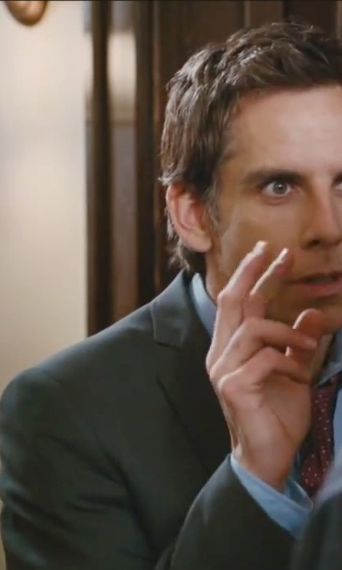 Ben Stiller with Theory Weller Suit Jacket in Little Fockers