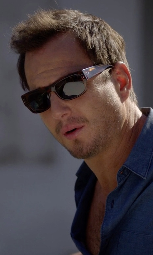 Will Arnett with Blinde Eyewear Hard Eight Sunglasses in Flaked
