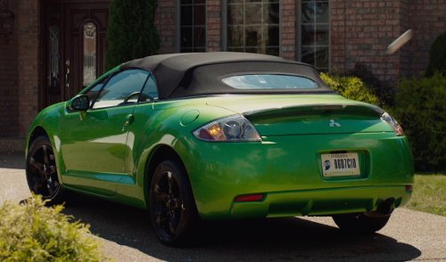 Unknown Actor with Mitsubishi Eclipse Spyder GS Sport in The Fault In Our Stars