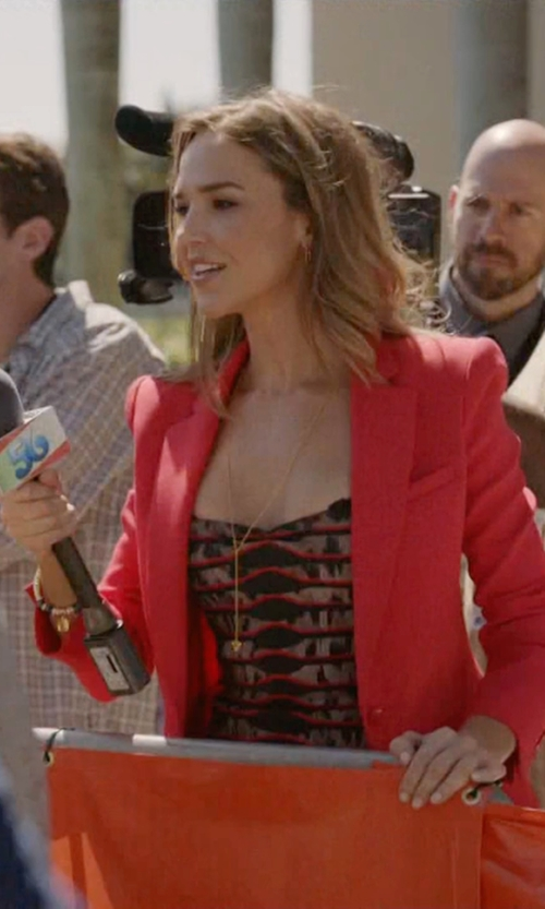 Arielle Kebbel with Miracle Icons Double-Charm Bracelet in Ballers