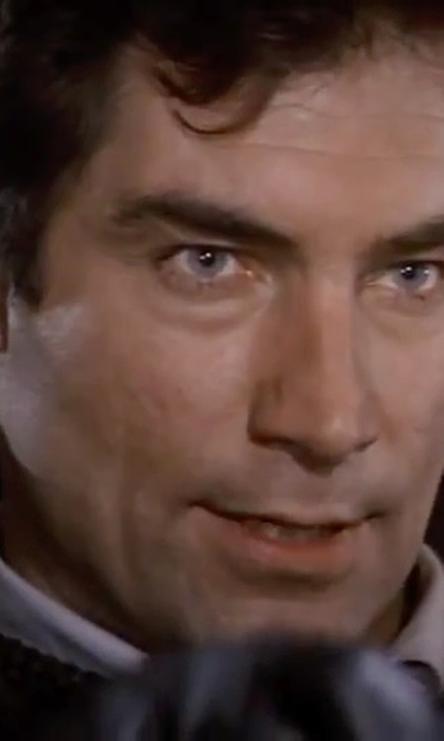 Timothy Dalton with Burberry Slim Fit Cotton Oxford Shirt in The Living Daylights