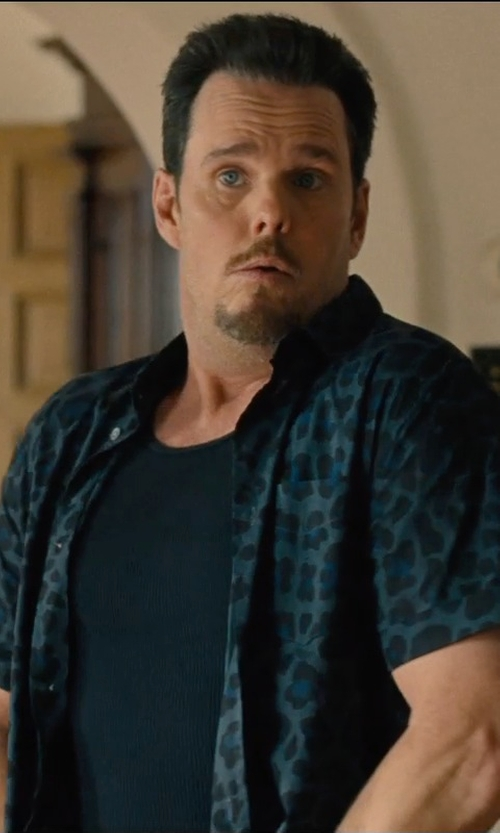 Kevin Dillon with Marc by Marc Jacobs London Leopard Print Shirt in Entourage