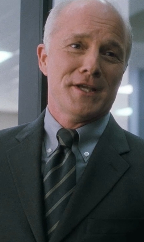 Dan Butler with Canali Stripe Silk Tie in Crazy, Stupid, Love.