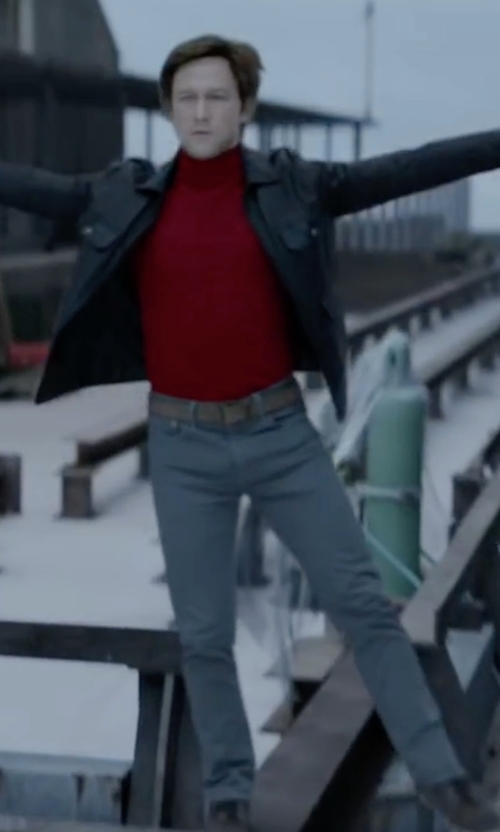 Joseph Gordon-Levitt with Wrangler Retro IRS Jeans in The Walk
