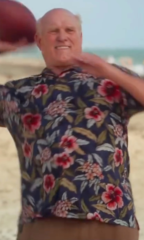 Terry Bradshaw with Tommy Bahama Breakaway Blooms Shirt in Bastards