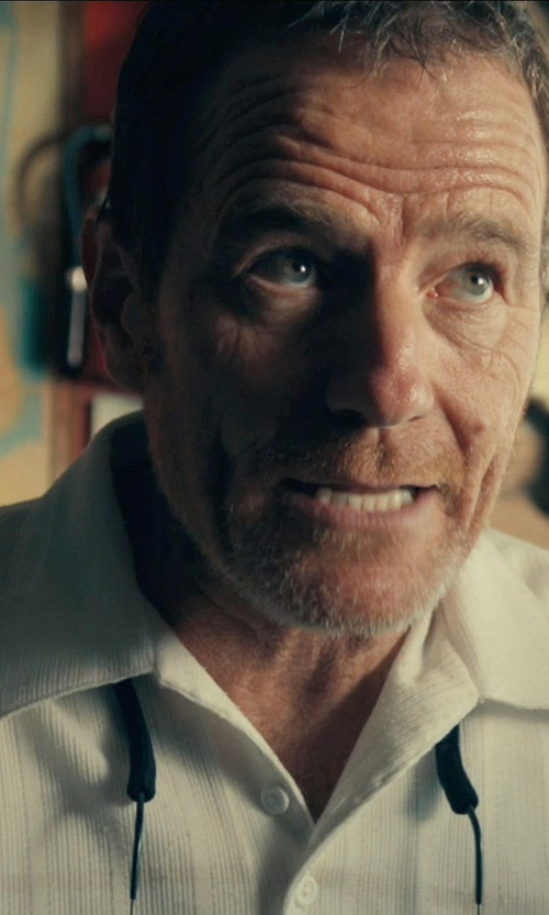 Bryan Cranston with Armani Collezioni Johnny Collar Polo Shirt in Drive