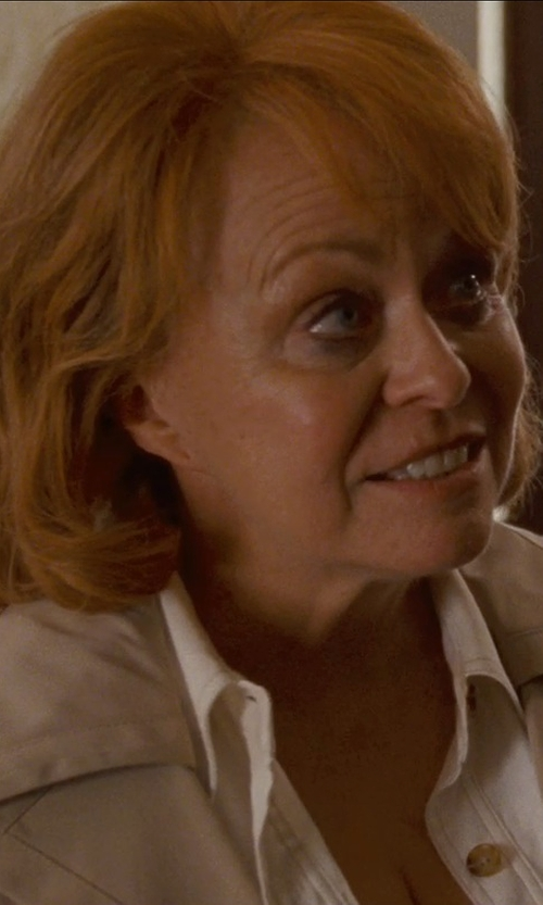 Jacki Weaver with European Culture Full-Length Jacket in Silver Linings Playbook