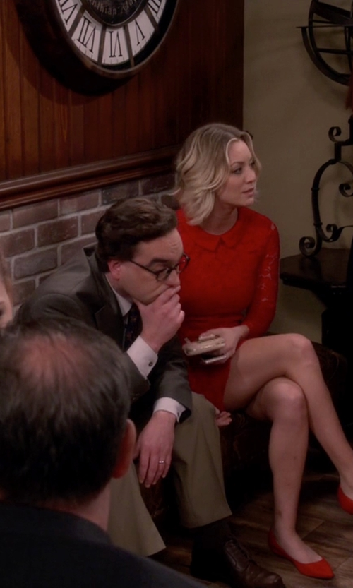 Johnny Galecki with Dunham 'Burlington' Oxford Shoes in The Big Bang Theory